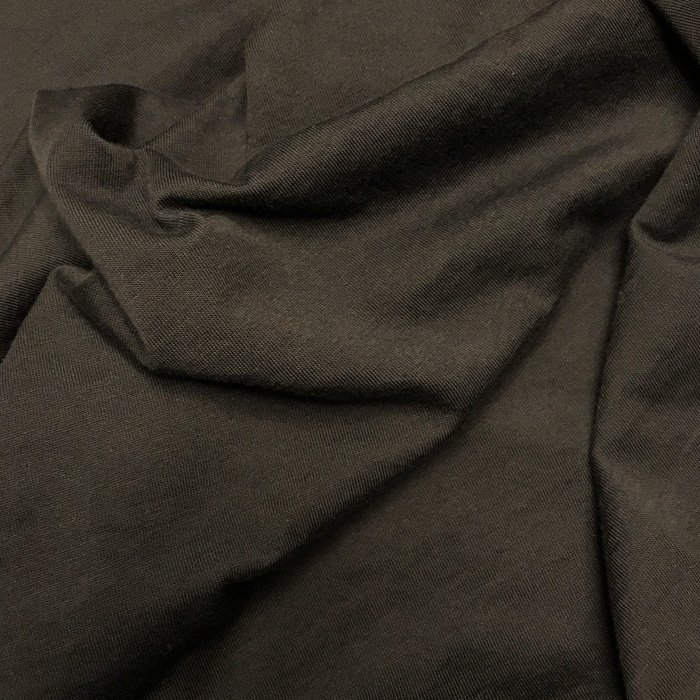 Black fabric folds