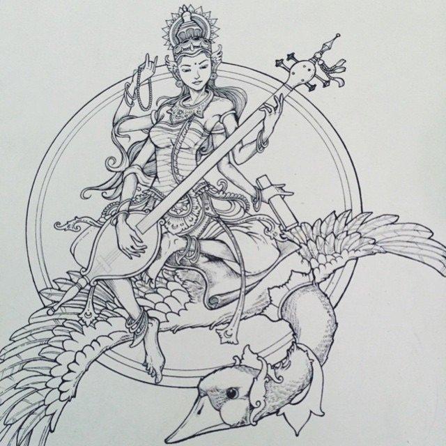 Wayan Bayu sketch