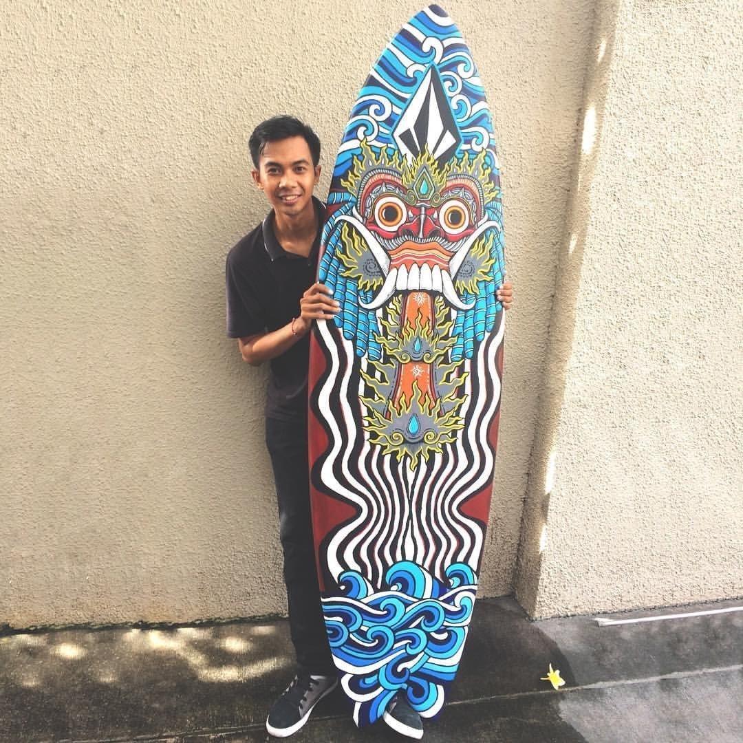 Wayan Bayu Surf board