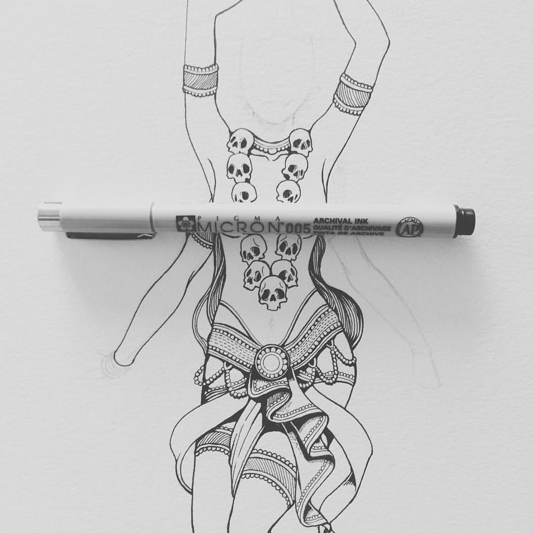 Wayan Bayu Kali sketch