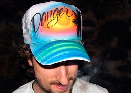 Ed Jewell Danger Hat
