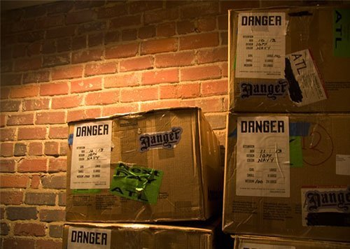 Danger boxes
