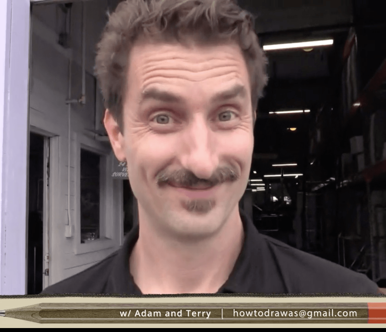 Butt Pencils, DIY, and Frank Zappa: A Live Stream of How To Draw at Danger