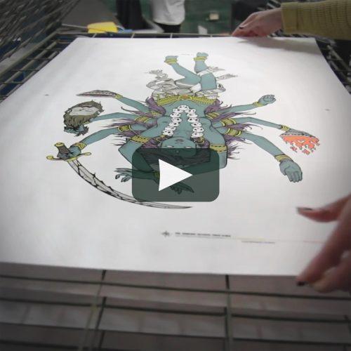 Poster Print Process