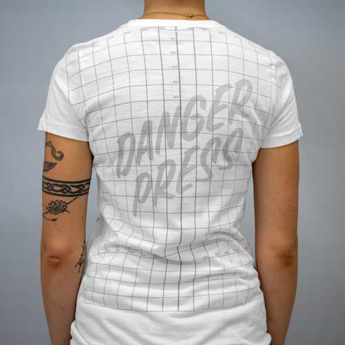Danger Press Grid Shirt