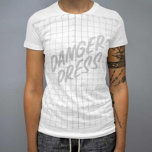 Danger Press Grid Shirt