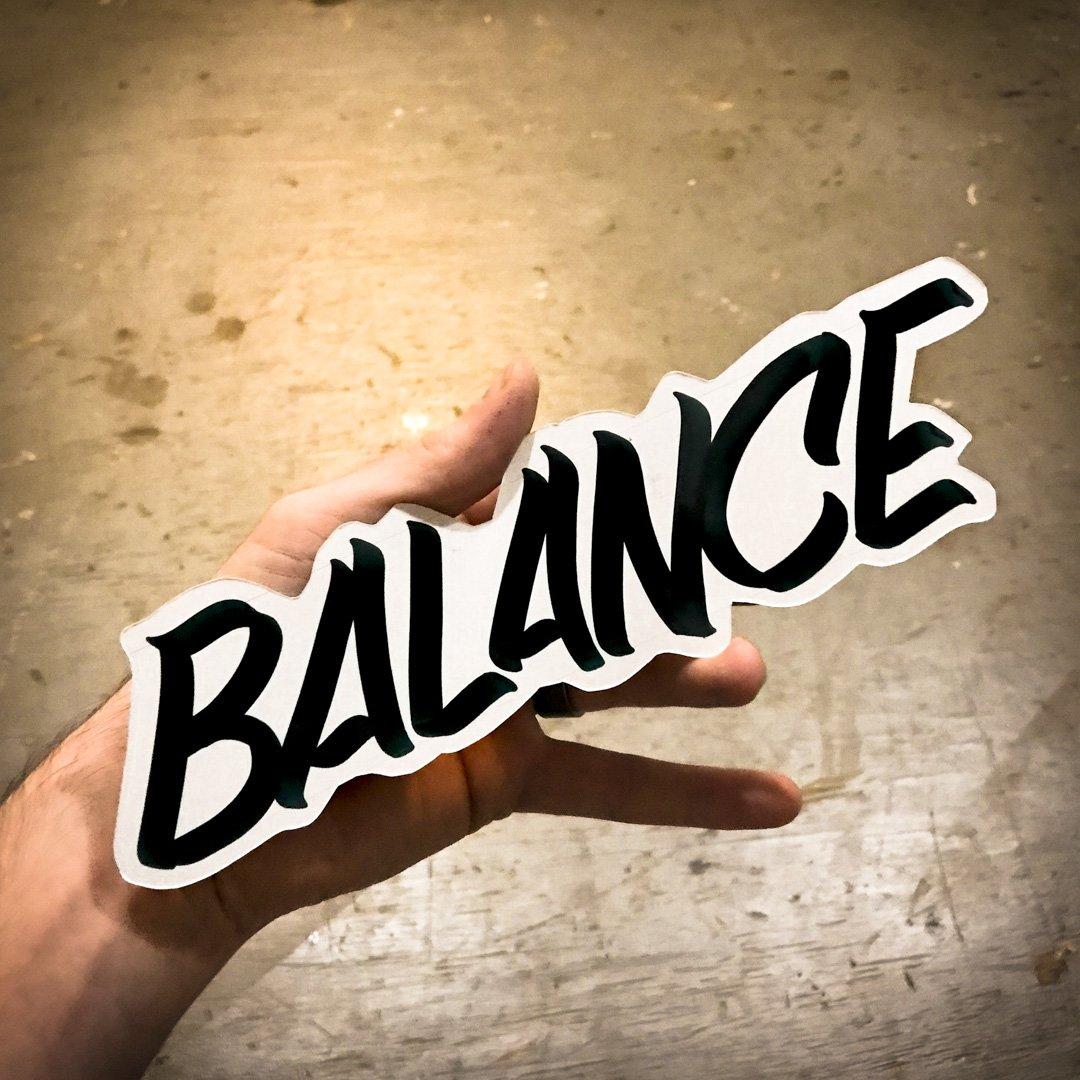 Balance handheld