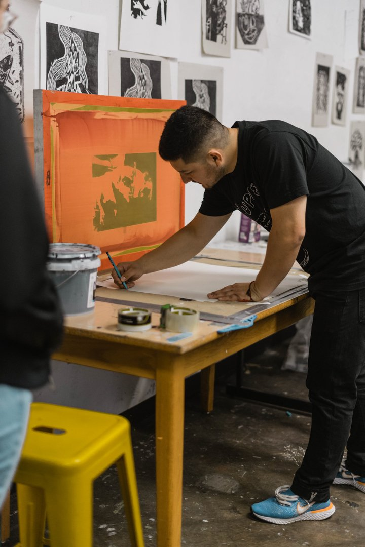 Young Harris Screen Printing Workshop