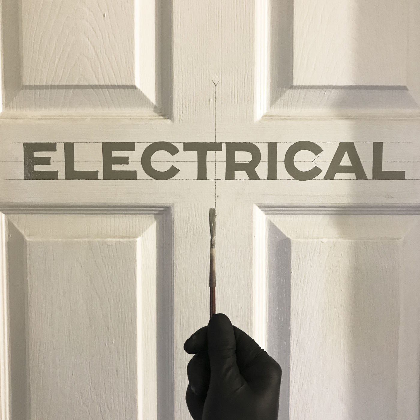 Electrical block lettering