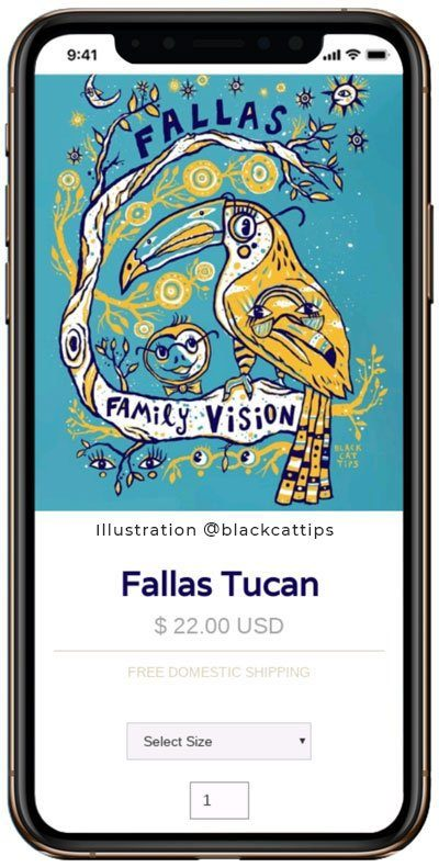 Fallas Family Vision Presale Shop